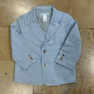 Janie and Jack boy's blazer. Blue. Size 4.
